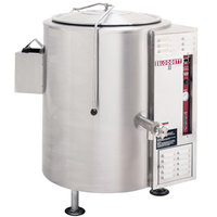 Blodgett KLS-40G Liquid Propane 40 Gallon Stationary Tri-Leg Steam Jacketed Kettle - 100,000 BTU