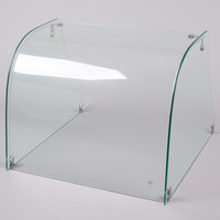 Excellence ACSG-00002 Curved Glass Sneeze Guard