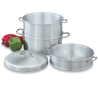 Vollrath 68125 Wear Ever 5 Qt. 3-Tier Vegetable Steamer Set