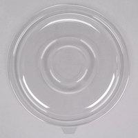 Fineline 5160-FL Super Bowl 160 oz. Clear PET Plastic Flat Lid - 25/Case