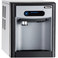Follett 7CI100A-NW-NF-ST-00 7 Series 14 5/8 inch Air Cooled Chewblet Countertop Ice Maker and Dispenser - 7 lb.
