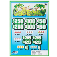 Castaway 5 Window Pull Tab Tickets - 4000 Tickets Per Deal - $1440 Total Payout