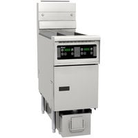 Pitco SG14RS-1FD-D 40-50 lb. SoloFilter Solstice Gas Floor Fryer with and Digital Controls and Filter Drawer - 122,000 BTU