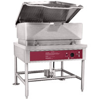 Blodgett BLP-40E 40 Gallon Power Tilt Electric Braising Pan / Tilt Skillet - 208V, 1 Phase, 18 kW