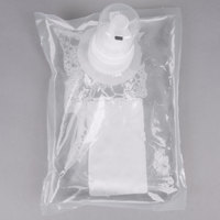 Kutol 71041 1000 mL EZ Foam Dye and Fragrance Free 72% Alcohol Hand Sanitizer Bag - 6 / Case
