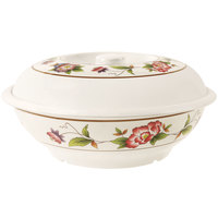 GET KT-050-TR 70 oz. Tea Rose Bowl with Lid - 12 / Pack