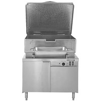 Blodgett BCH-30E 30 Gallon Hydraulic Tilt Electric Braising Pan / Tilt Skillet with 36 inch Cabinet Base - 240V, 3 Phase, 12 kW