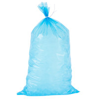 Choice 8 lb. Blue Plastic Ice Bag - 1000/Case