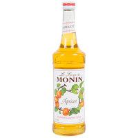 Monin 750 mL Premium Apricot Flavoring / Fruit Syrup