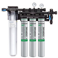 Everpure EV9328-03 Coldrink Triple 3-MC2 Water Filtration System with Pre-Filter - .5 Micron and 5 GPM