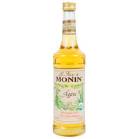 Monin 750 mL Organic Agave Nectar Flavoring Syrup