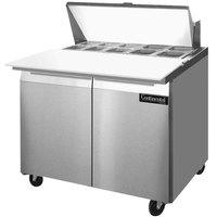 Continental Refrigerator SW36-10C 36 inch Cutting Top Sandwich / Salad Prep Refrigerator