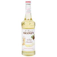 Monin 750 mL Premium White Chocolate Flavoring Syrup
