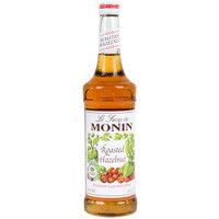 Monin 750 mL Premium Roasted Hazelnut Flavoring Syrup