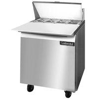 Continental Refrigerator SW27-8C 27 inch Cutting Top Sandwich / Salad Prep Refrigerator