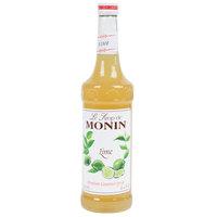Monin 750 mL Premium Lime Flavoring / Fruit Syrup