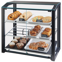 Cal-Mil 3493-13S Black Small Bakery Display Case - 20 inch x 15 1/2 inch x 21 inch