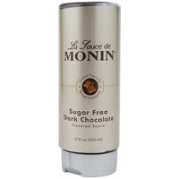 Monin 12 oz. Sugar Free Dark Chocolate Flavoring Sauce