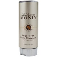 Monin 12 oz. Sugar Free Dark Chocolate Flavoring Sauce