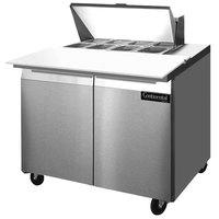 Continental Refrigerator SW36-8C 36 inch Cutting Top Sandwich / Salad Prep Refrigerator