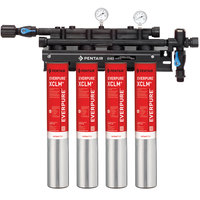 Everpure EV9761-14 QC7I Quad-XCLM+ Water Filtration System - 5 Micron and 8/6.68/4 GPM