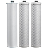 Everpure EV9105-34 312E Filter Cartridge Kit - .5 Micron and 5 GPM