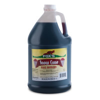 Fox's Black Raspberry Snow Cone Syrup 1 Gallon