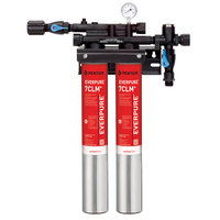 Everpure EV9771-12 QC7I Twin-7CLM+ Water Filtration System - 5 Micron and 3.34/2.66/2 GPM