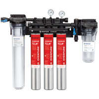 Everpure EV9771-33 High Flow CSR Triple-7CLM+ Water Filtration System with Pre-Filter and Scale Reduction - 5 Micron and 5.01/4/3 GPM