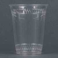 Fabri-Kal Greenware GC16S 16 oz. Customizable Compostable Clear Plastic Cold Cup - 50 / Pack