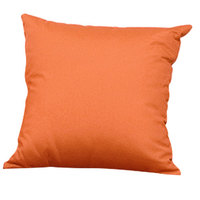 BFM Seating PH5101-PL Aruba Rust Canvas Throw Pillow