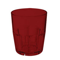GET 9912-1-R 12 oz. Red Break-Resistant Plastic Bahama Tumbler - 72/Case