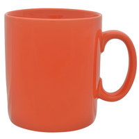 10 Strawberry Street XLBRL-ORG 26 oz. Orange Oversized Barrel Mug - 12 / Case