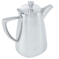 Vollrath 46300 Triennium 10 oz. Satin-Finished Stainless Steel Coffee Pot