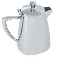 Vollrath 46209 Triennium 9 oz. Mirror-Finished Stainless Steel Creamer with Lid