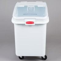 Rubbermaid FG360388WHT ProSave 30.8 Gallon Ingredient Storage Bin with 32 oz. Scoop