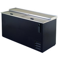 Excellence HBC-65 66 inch Black Bottle Cooler