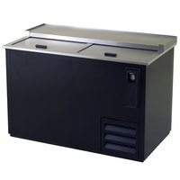 Excellence HBC-50 52 inch Black Bottle Cooler