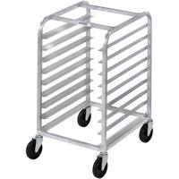 Channel 426A 7 Pan Aluminum End Load Half Height Sheet / Bun Pan Rack - Assembled
