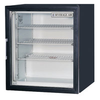 Beverage-Air CF3-1-B Black Countertop Display Freezer with Swing Door - 3 cu. ft.