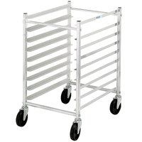 Channel 426AKD 7 Pan Aluminum End Load Half Height Sheet / Bun Pan Rack - Unassembled