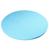 Scrubble by ACS 52-27 Type 52 27 inch Blue Velvet Burnishing UHS Floor Pad - 2/Case