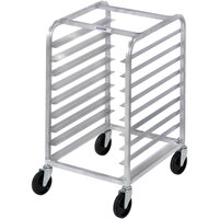 Channel 431S 6 Pan Stainless Steel End Load Undercounter Sheet / Bun Pan Rack - Assembled
