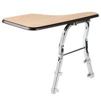 National Public Seating TA81L Left Light Oak Tablet Arm