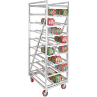 Channel CSR-99M Heavy-Duty Full Size Mobile Aluminum Can Rack for #10 and #5 Cans