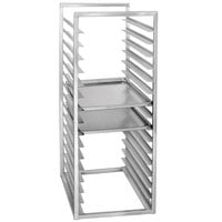 Channel RIR16-S 16 Pan Stainless Steel End Load 20 1/2 inch x 23 inch x 51 inch Sheet / Bun Pan Rack for Reach-Ins - Assembled