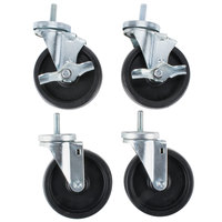 Master-Bilt A297-11140 5 inch Swivel Stem Caster - 4 / Set
