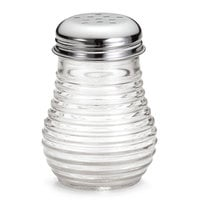 American Metalcraft BEE606 6 oz. Beehive Cheese / Pepper Shaker with Chrome-Plated Top - 12/Pack