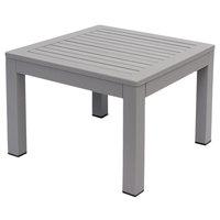BFM Seating PH6105SG Belmar Soft gray Aluminum End Table