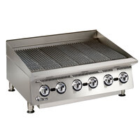 Star 8136RCBA Ultra Max 36 inch Radiant Gas Charbroiler 120,000 BTU